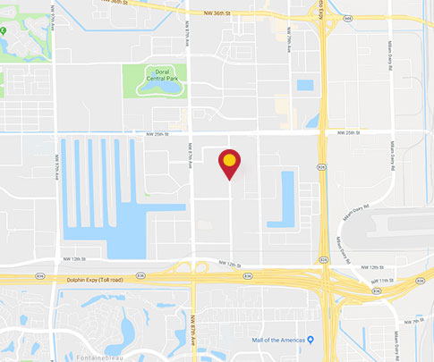 1908 NW 84th Ave  |  Miami FL 33126<br>                            Office | 305-599-2045